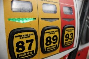 A price of regular gas is displayed on May 22, 2009 in Atlanta, GA.